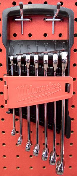Milwaukee Combination Wrench Small Metric Set