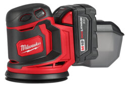 New Milwaukee M18 Cordless Sander
