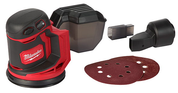 Milwaukee M18 Cordless Sander Contents
