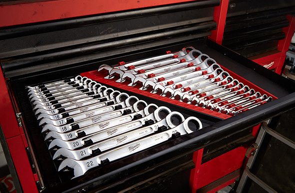 New Milwaukee Ratcheting Wrenches
