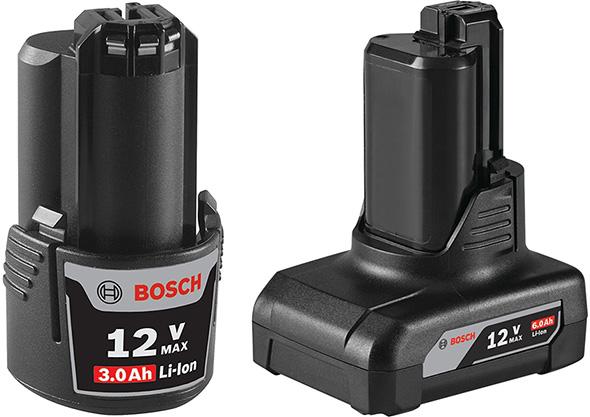 New Bosch 12V Max Cordless Power Tool Battery Packs
