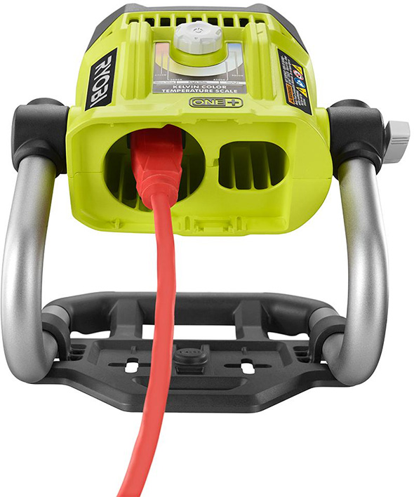 Ryobi Color Corrected LED Light Rear Dial