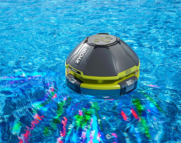 Ryobi Floating Cordless Bluetooth Light Show Speaker