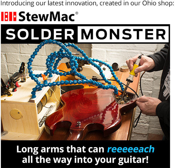 StewMac Solder Monster Intro