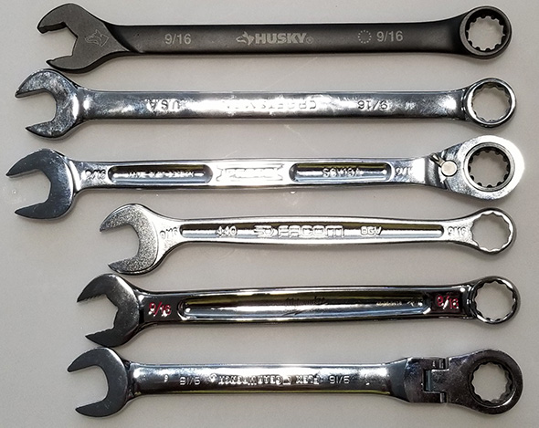 Wrench Size Comparison
