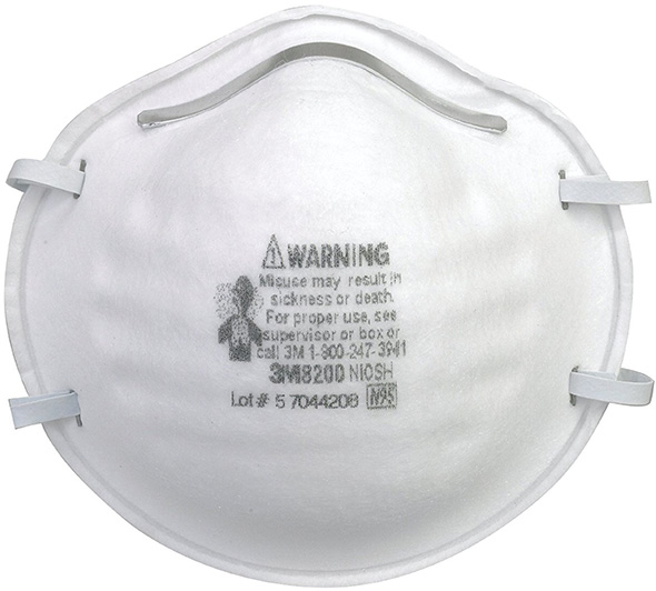 3M 8200 Disposable N95 Respirator