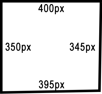 Accuracy and Precision Crooked Square Example