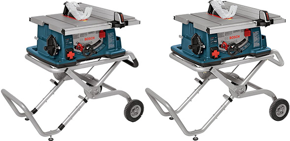 Bosch 4100-09 and 4100-10 Portable Table Saws