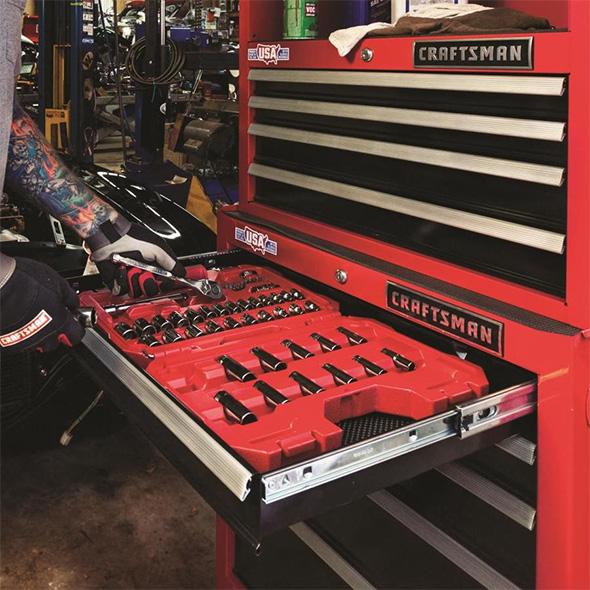 Craftsman 81pc Mechanics Tool Set in Tool Cabinet