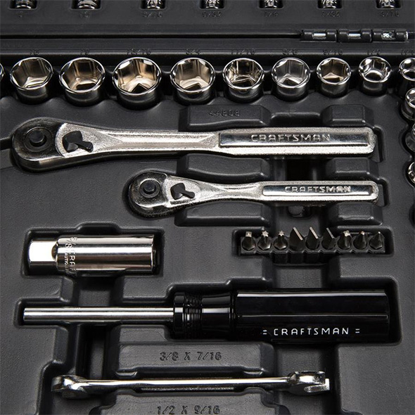 Craftsman 95pc Mechanics Tool Set Closeup