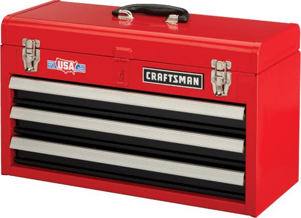 Craftsman Metal Drawer Tool Box 2018