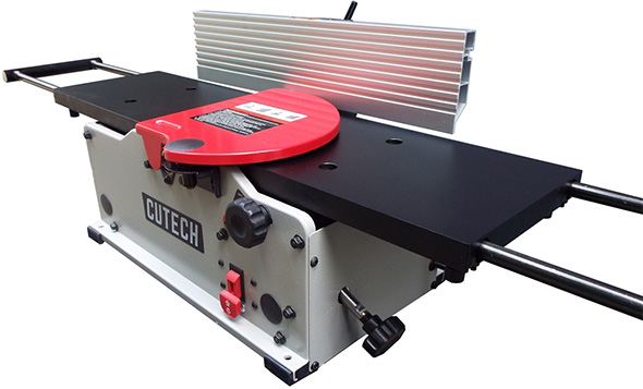 Cutech Jointer 8-inch with Black Table and Carbide Teeth
