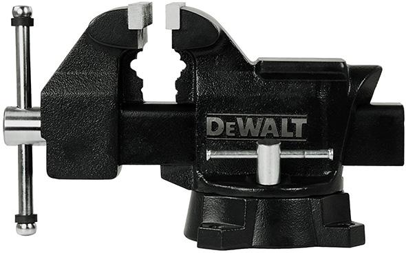 Dewalt 5-inch Bench Vise Side