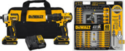 Dewalt Brushless Combo Kit and Bit Set Deal of the Day April 2018