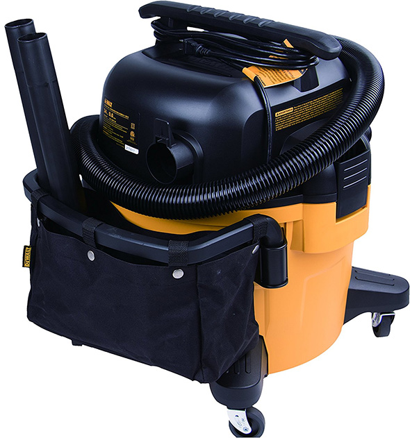 Dewalt DXV09P Shop Vacuum Back