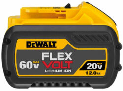 New Dewalt 12.0Ah Cordless Power Tool Battery (FlexVolt/20V Max)