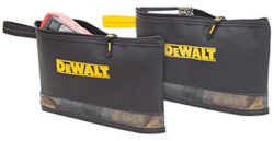 New Dewalt Zippered Tool and Parts Bags