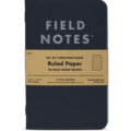 Field Notes Pitch Black Ruled Notebook