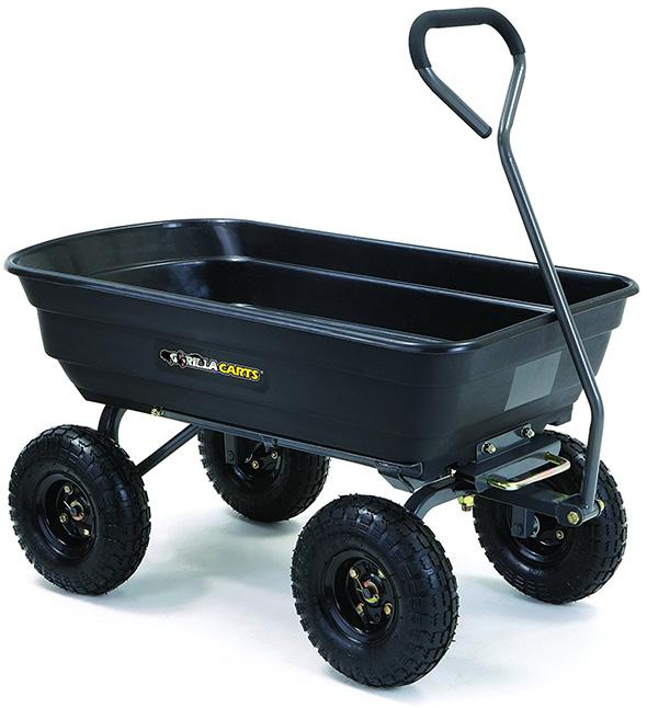 Gorilla Carts 600 Pound Garden Wagon