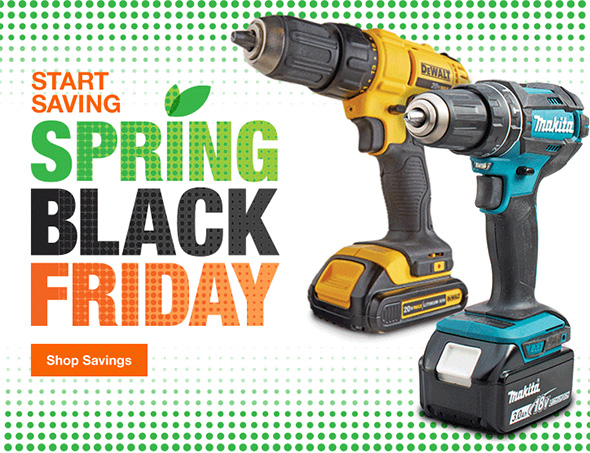 Home Depot Spring Black Friday 2018