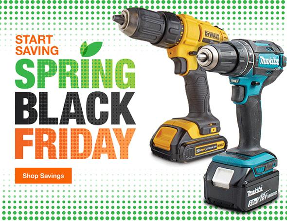 Home Depot Spring Black Friday Sales Event (2018)