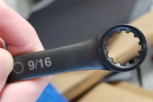 Husky Universal Combination Wrench Box End