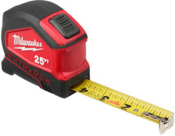 New Milwaukee Auto-Locking Tape Measures
