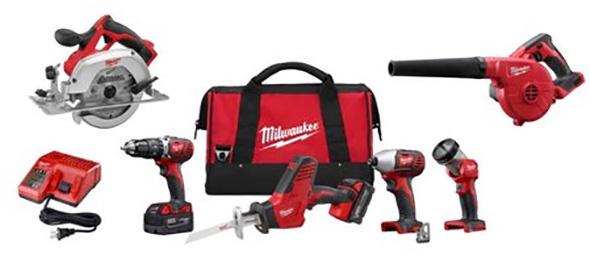 Milwaukee 2695-26CX Combo Kit