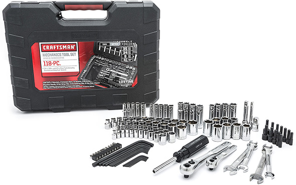 Sears Craftsman 118pc Mechanics Tool Set