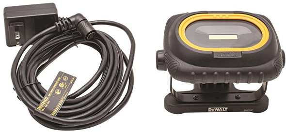 Dewalt 1000 Lumen Rechargeable Area Worklight with Charging Cable