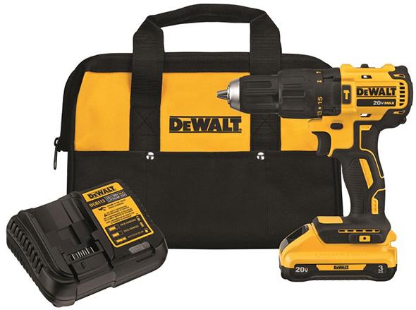 Dewalt DCD778L1 Brushless Hammer Drill Kit Alternate Battery Color
