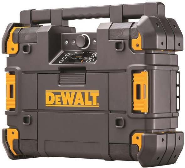 Dewalt Tstak Tool Box Music Player