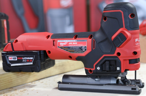 Milwaukee M18 Barrel Grip Jigsaw right side