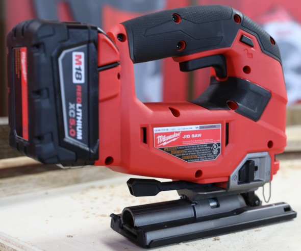 Milwaukee M18 D-Handle Jigsaw right side