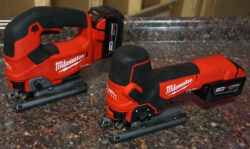 New Milwaukee M18 Fuel D-Handle and Barrel Grip Jigsaws