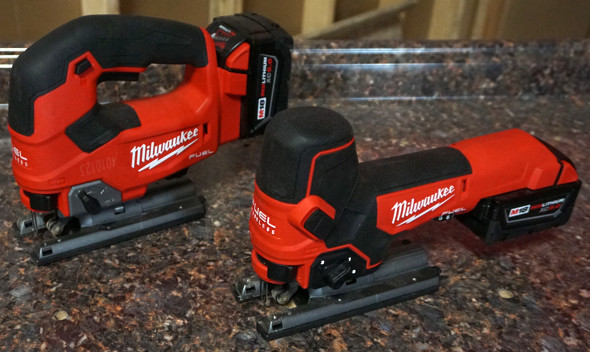 Milwaukee M18 D-Handle and Barrel Grip Jigsaws