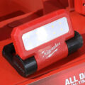 Milwaukee Rover Pivoting Flood Light with Redlithium USB battery