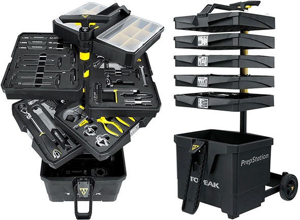 Topeak Bike Station Pro Tool Box Opened