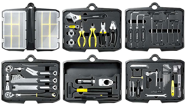 Topeak Bike Station Pro Tool Set Organization