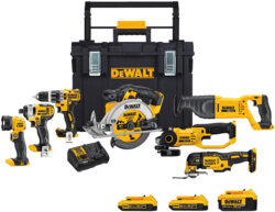 The Best Dewalt 20V Max Cordless Power Tool Combo Kit Right Now (Spring 2018)
