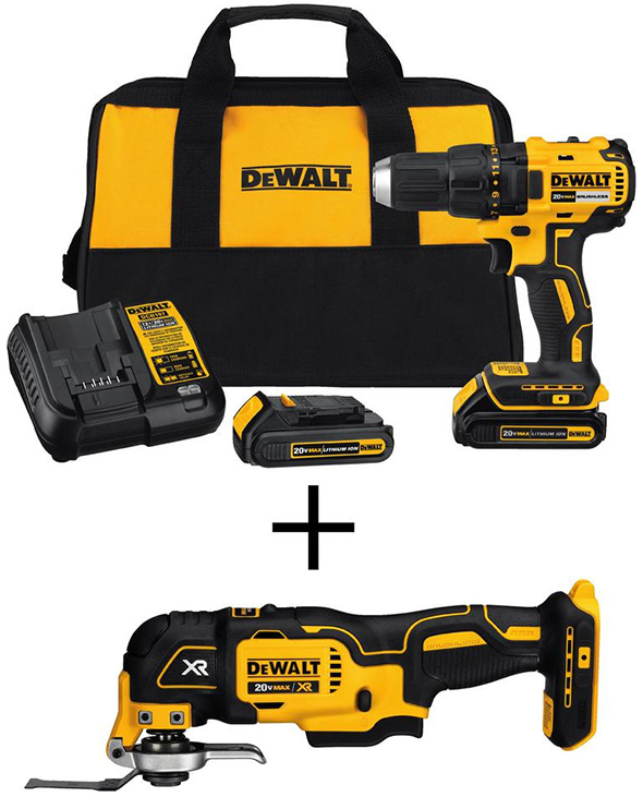 Dewalt Drill and Multi-Tool Combo