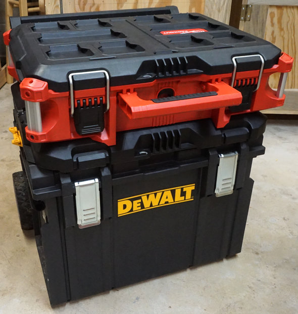 Dewalt Tough System Packout Conversion 2