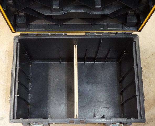 Dewalt Tough System rolling toolbox divider