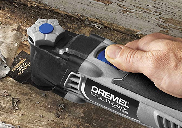 Dremel MM35 Multi-Max Oscillating Multi-Tool Blade Change Mechanism