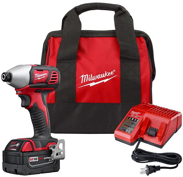 Milwaukee M18 2656-21P Promo Impact Driver Kit