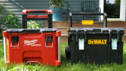 Comparing Milwaukee Packout and Dewalt Tough System Rolling Toolboxes