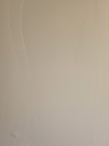 Wavy Painted Drywall