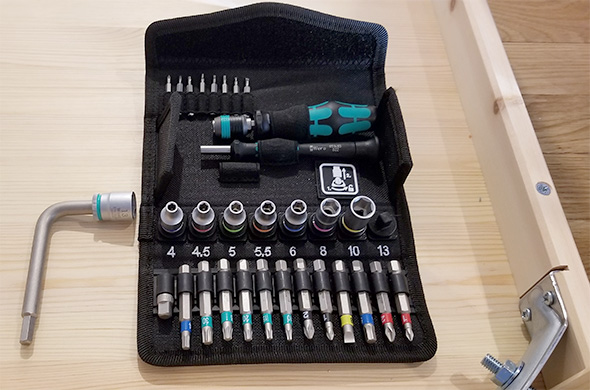 Wera Advent Calendar 2017 Tool Set