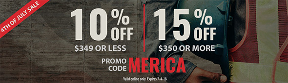 Acme Tools July 4th 2018 Coupon Sale