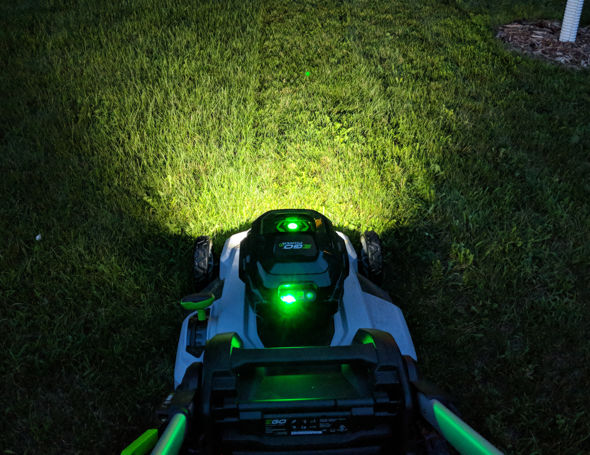 EGO 21inch push mower headlight pattern